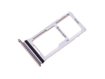 ABN75658103  - Szufladka karty SIM LG G710 G7 ThinQ - szara (oryginalna)