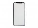 Szybka + ramka + klej OCA iPhone X czarna
