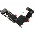 Taśma ze złączem systemowym iPhone 5S - czarne