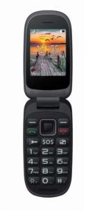 - Telefon MaxCom MM818 - nowy czarno - niebieski