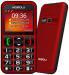 TELEFON MOBIOLA MB700 czerwony