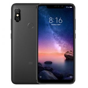 - Telefon Xiaomi Redmi Note 6 Pro 4/64GB - czarny NOWY (Global Version)
