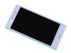 U50041391, 1304-1872 - Obudowa przednia z ekranem dotykowym i wyświetlaczem LCD Sony F5321 Xperia X Compact - niebieska (or...