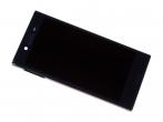 U50041411, 1304-1869 - Obudowa przednia z ekranem dotykowym i wyświetlaczem LCD Sony F5321 Xperia X Compact - czarna (orygi...