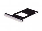 U50052471, 1311-3773 - Szufladka karty SIM Sony H8216, H8276 Xperia XZ2 - srebrna (oryginalna)