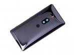 U50055141, 1312-4055 - Obudowa tylna Sony H8116 Xperia XZ2 Premium/ H8166 Xperia XZ2 Premium Dual SIM - czarna (oryginalna)