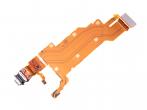 U50055651, 1310-1733 - Taśma ze złączem USB Sony H8116 Xperia XZ2 Premium/ H8166 Xperia XZ2 Premium Dual SIM (oryginalna)...