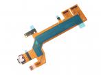 U50059831, 78PC9200010 - Taśma ze złączem USB Sony I3113, I3123, I4113, I4193 Xperia 10 (oryginalna)