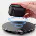 WIAPPOD-01 - Baseus AirPods Wireless Charger Case silikonowe etui na słuchawki Apple AirPods z funkcją bezprzewodowego ładowania (WIAPPOD-01) czarny