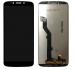 Wyświetlacz LCD + ekran dotykowy Motorola Moto G6 Play czarny