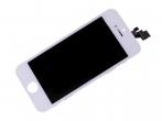Wyświetlacz LCD z ekranem dotykowym (org material) iPhone 5 - biały