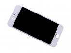 - Wyświetlacz LCD z ekranem dotykowym (org material) iPhone 8 - biały