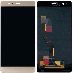 - Wyświetlacz LCD + ekran dotykowy Huawei P9 plus złoty