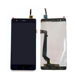 18340 - Wyświetlacz LCD + ekran dotykowy Lenovo K5 Note czarny