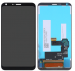 Wyświetlacz LCD + ekran dotykowy LG Q6 czarny ( Wymieniona Szyba )