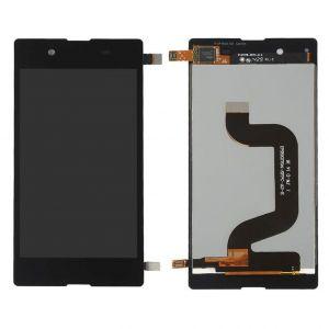Wyświetlacz LCD + ekran dotykowy  Sony E3 czarny