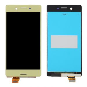 - Wyświetlacz LCD + ekran dotykowy Sony Xperia X F5121 złoty