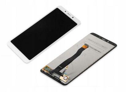 - Wyświetlacz LCD + ekran dotykowy Xiaomi Redmi 6/6a biały