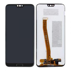 - Wyświetlacz LCD  + ekran HUAWEI HONOR 10 - czarny