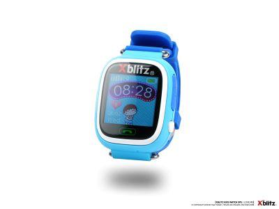 - Xblitz Love me zegarek niebieski GPS/SIM