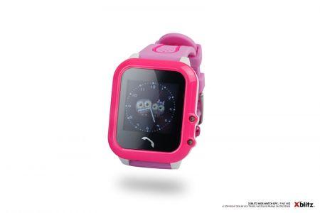 - Zegarek smart watch Xblitz Find me różowy