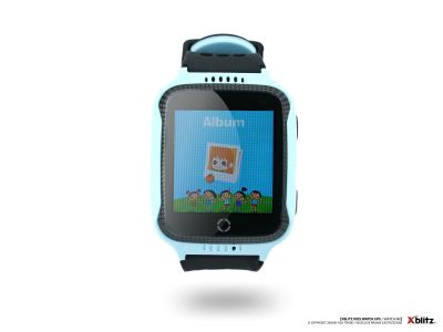 - Zegarek smart watch Xblitz Watch Me niebieski GPS/SIM